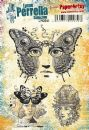 PaperArtsy Lynne Perrella Rubber Stamp - LPC041